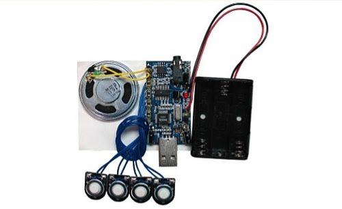 300 second (5 minutes) USB recording module with 4 buttons