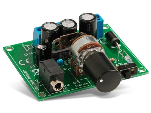 2X5W Amplifier for MP3 Player (Kit)
