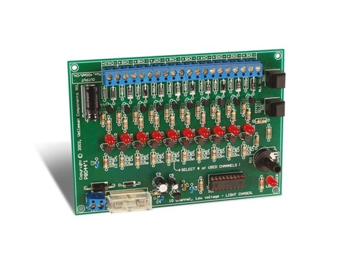 10-Channel 12VDC Light Effect Generator (Assembled & Tested)