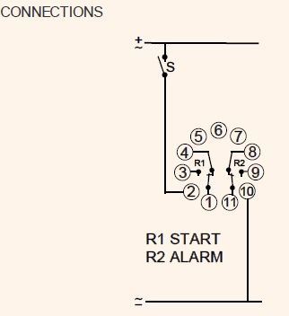 Engine Start Attempt and Alarm Relay