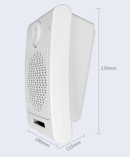 Triggerable 20 Watts  MP3 Audio Player Wall Speaker