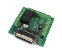 [KTA-205] Parallel Port Interface card with Relays Outputs and Safety Charge Pump Option