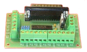 [KTB-205] Parallel Port Interface with Relays Card Kit 24V