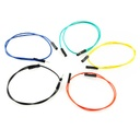 "[PRT-09385] Jumper Wires Premium 12"" M/F Pack of 10"