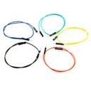 "[PRT-09387] Jumper Wires Premium 12"" M/M Pack of 10"