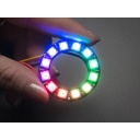 [ADA-1643] NeoPixel Ring - 12 x 5050 RGB LED with Integrated Drivers