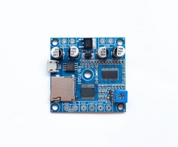 [FN-TG01] Motion Sensor or Switch Activated MP3 Player Module with Load Output (Solder Pads)