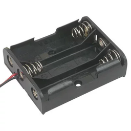 "[JA-6136] 3x AA Battery Holder with 6"" Wires"