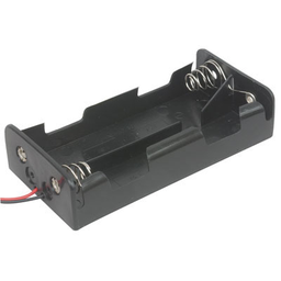 "[JA-6363] 4x C Battery Holder with 6"" Wires"