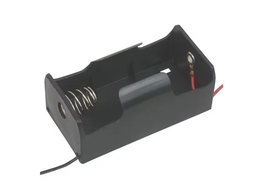 "[JA-6371] 1x D Battery Holder with 6"" Wires"