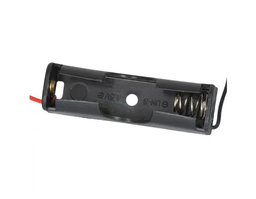 [JA-6072] 1x AA Battery Holder with 6 Inch Wires