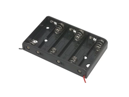 [JA-6223] 6x AA Battery Holder with 6 Inch Wires