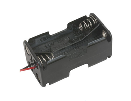 "[JA-6179] 4x AA Battery Holder with 6"" Wires"