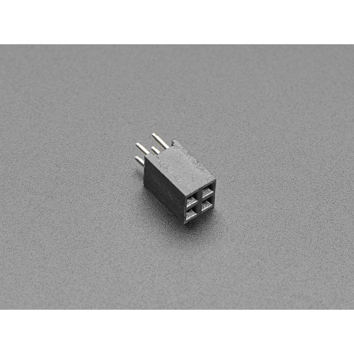 GPIO Female Socket Riser Header - 2x2 4-pin