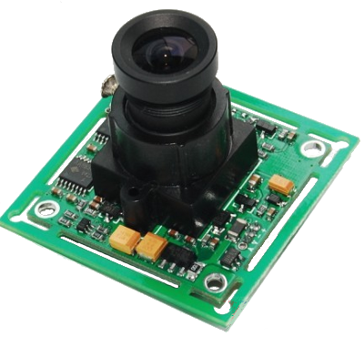 C429-L36 JPEG Compression VGA Camera Module WITH IR-CUT filter mounted on sensor & 3.6mm lens