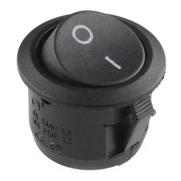 [COM-11138] Rocker Switch - SPST (round)