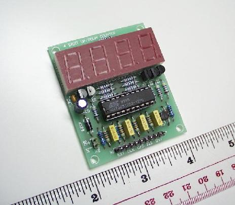 4 Digit LED Up/Down Counter using MCU (Assembled)