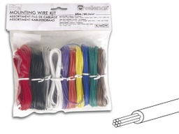 [K/MOW] 10 Color - Stranded Mounting Wire Kit 60m