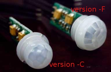 KC7789M PIR Sensor Module with lens -F