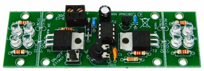 Two-Channel HI-Power LED Flasher (Assembled)
