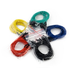 "[PRT-09390] Jumper Wires Premium 12"" F/F Pack of 100"