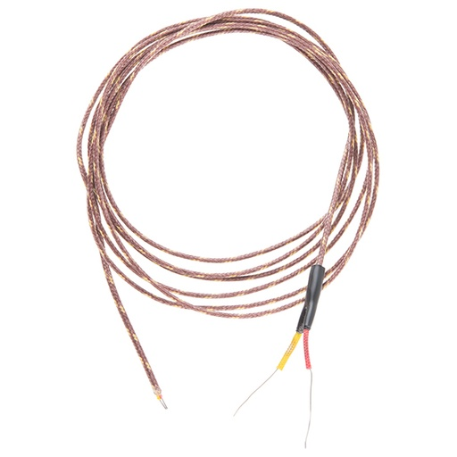 Thermocouple Type-K - Glass Braid Insulated (Bare Wire)