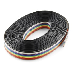 [CAB-10647] Ribbon Cable - 10 wire (15ft)