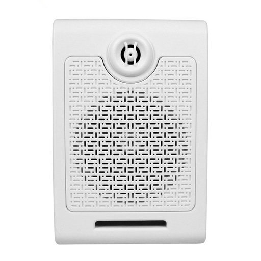 Triggerable 20 Watts  MP3 Audio Player Wall Speaker (White)